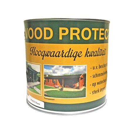 Wood Protect beits dekkend grijs