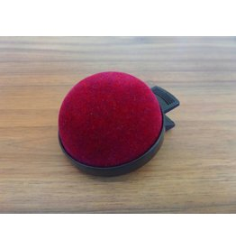 JKOS Nadelkissen mit Clip  Bordeaux-Rot