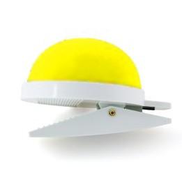 JKOS Nadelkissen in Gelb  mit Clip - Optimal für Operationen