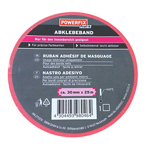 POWERFIX POWERFIX Abklebeband 30 mm x 25 m - rosa/blau
