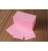 """""""die Dicken"""" by Datamondial UG """"die Dicken"""" Moderationskarten Rechteck 10x20cm, 500 Stück, Farbe  rosa"""