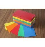 """""""die Dicken"""" by Datamondial UG """"die Dicken"""" Moderationskarten  Rechtecke 10x20cm, 500 Stück,  intensive Farben"""