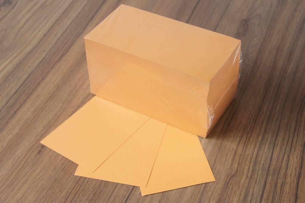 """""""die Dicken"""" by Datamondial UG """"die Dicken"""" Moderationskarten Rechteck 10x20cm, 500 Stück, Farbe orange"""