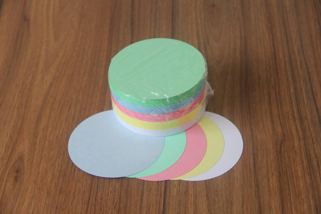 """""""die Dicken"""" by Datamondial UG """"die Dicken"""" Moderationskarten Kreis Ø 10cm, 250 Stück, Pastellfarben"""