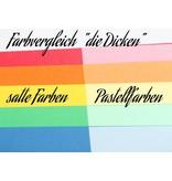 """""""die Dicken"""" by Datamondial UG """"die Dicken"""" Moderationskarten Rechteck 10x20cm, 500 Stück,  Farbe pastellgrün"""