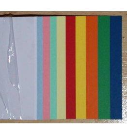 """""""die Dicken"""" by Datamondial UG Moderationskarten / Überschriftenstreifen Rechtecke 10x60cm, 50 Stück, Farben pastell & intensiv"""