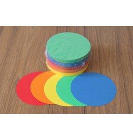 """""""die Dicken"""" by Datamondial UG """"die Dicken"""" Moderationskarten Kreis Ø 10cm, 250 Stück, intensive  Farben"""
