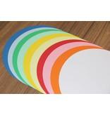 """""""die Dicken"""" by Datamondial UG """"die Dicken"""" Moderationskarten Kreis Ø 14cm, 250 Stück, Farbe weiß"""