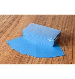 """Datamondial """"die Dicken"""" Moderationskarten Rechteck  10x20cm, 250 Stück, Farbe intensiv blau"""