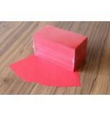 "Datamondial ""die Dicken"" Moderationskarten Rechteck  10x20cm, 500 Stück, Farbe intensiv rot"