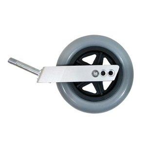 Drive PU wiel met voorvork (150 x 35 mm )