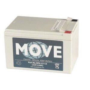 Move scootmobiel accu 12V - 12Ah