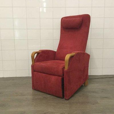 Fitform sta-op stoel Rood