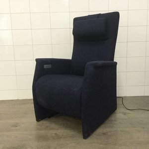 Prominent sta-op stoel Blauw