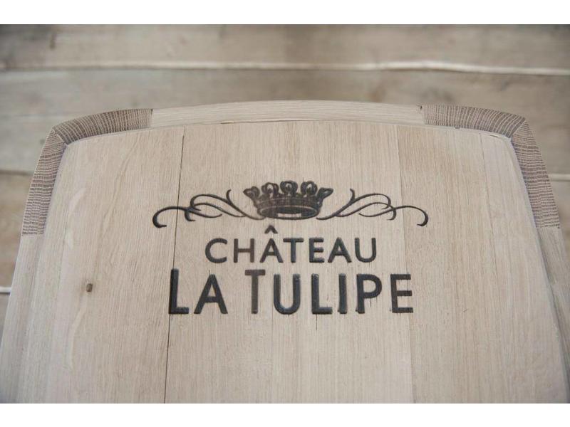 """Wijnvat tafeltje """"Chateau la Tulipe"""""""