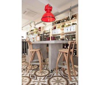 "Wine barrel bar stool ""Bordeaux"""