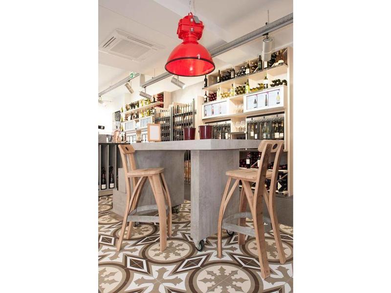 """Barrel Atelier Weinfass-Barhocker """"Bordeaux"""""""