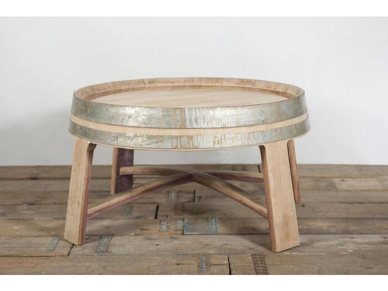 "Wine barrel table ""Champagne"""