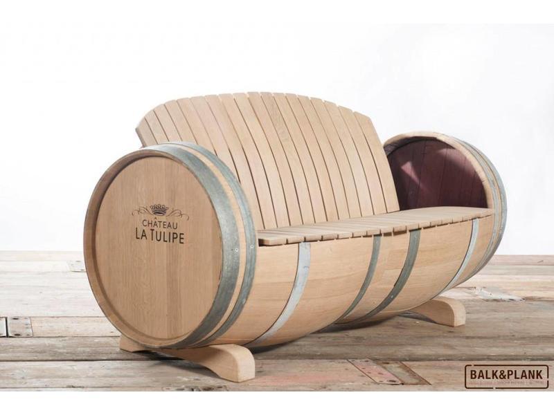 """Banco de barril de vino """"Ilja Gort"""""""