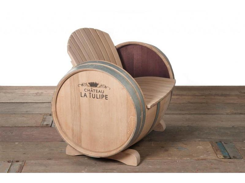 Barrel Atelier Weinfass-Stuhl Ilja Gort