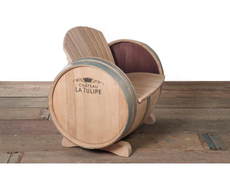 Barrel Atelier Wijnvat Stoel Ilja Gort