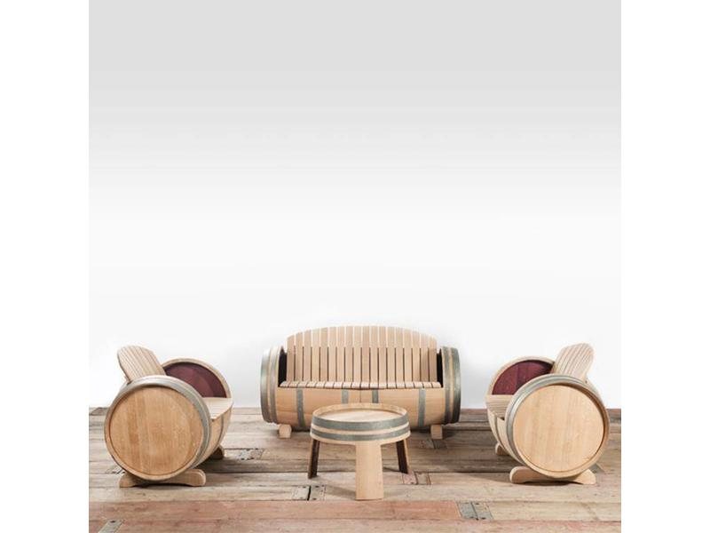 Conjuntos de jardín de barril de vino XL Ilja Gort