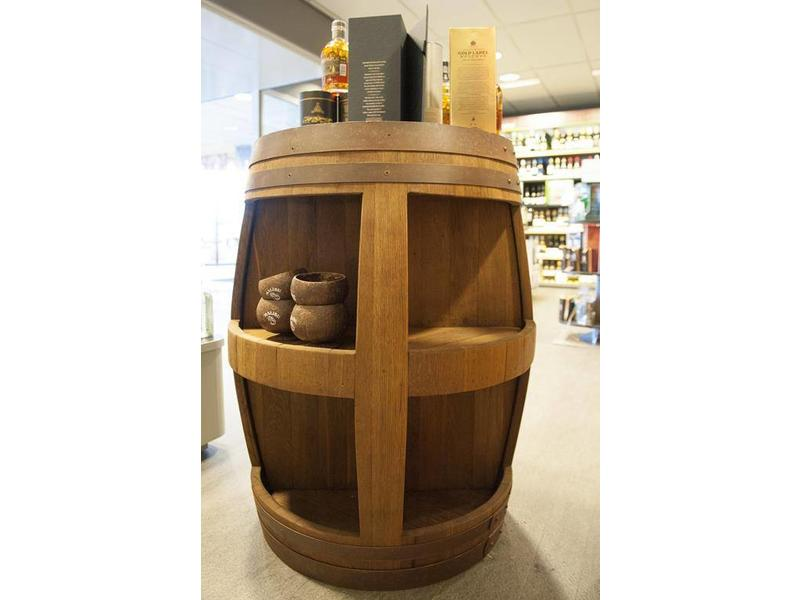 "Barrel Atelier Weinfass-Display ""Cabinet"""