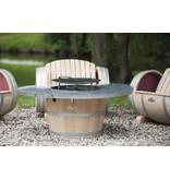 Barrel Atelier BBQ Grill Tisch
