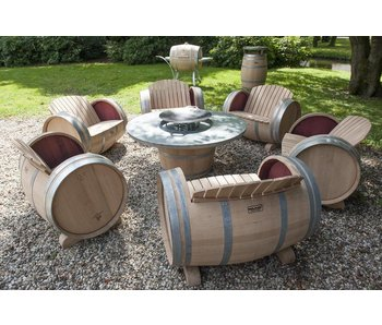 """bbq grill table """"Normande"""""""