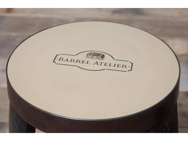 "Barrel Atelier Barhocker Brass ""Whiskey"""