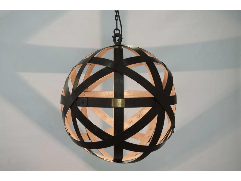 "Hanglamp 67 cm gepatineerd ""Chateau la Tulipe"""