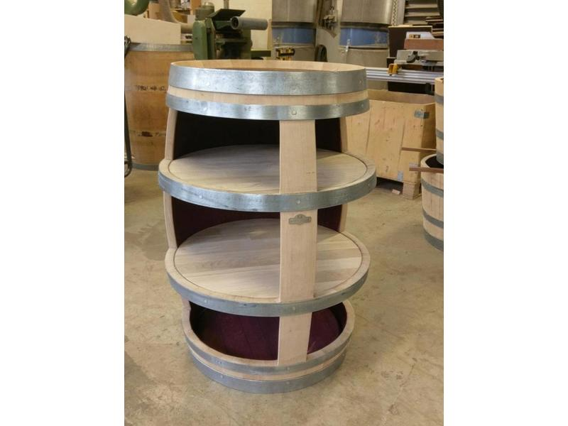 "Barrel Atelier Weinfass-Display ""Cabinet"" - Copy"