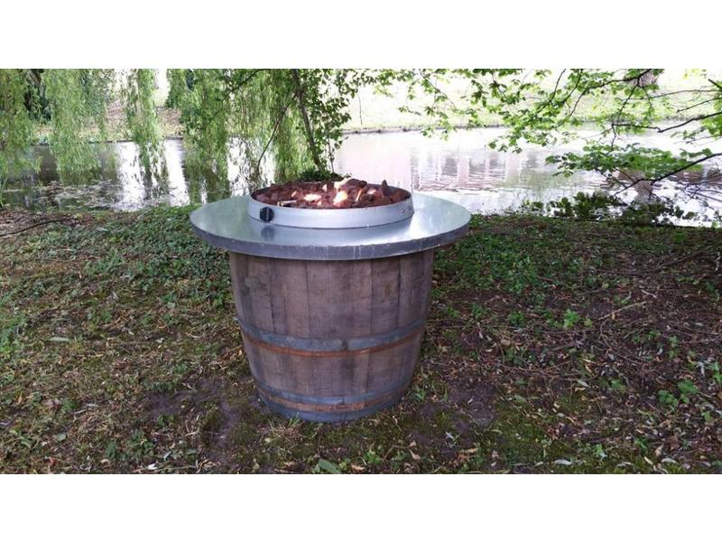 Barrel Atelier Lavagestein