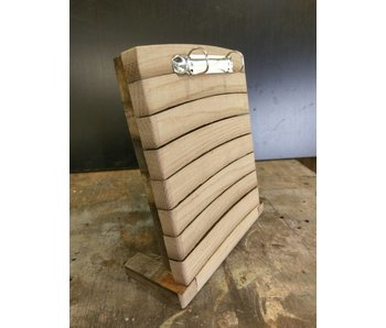 "Menu cardholder ""Barrel"""
