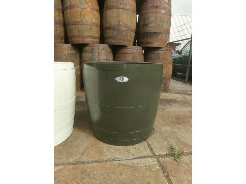 """Barrel Atelier Wijnvat kuip 3/4 """"Olijf"""""""