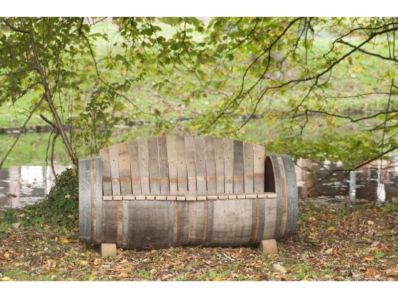 """Barrel Atelier Wijnvat bank """"Brandy"""""""