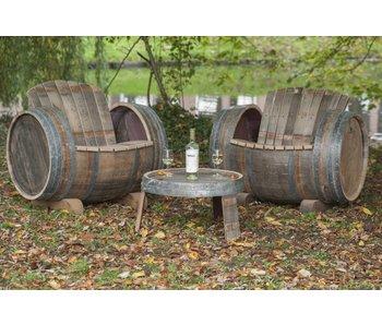 Brandy Loungeset (2 stoelen,1 tafeltje )