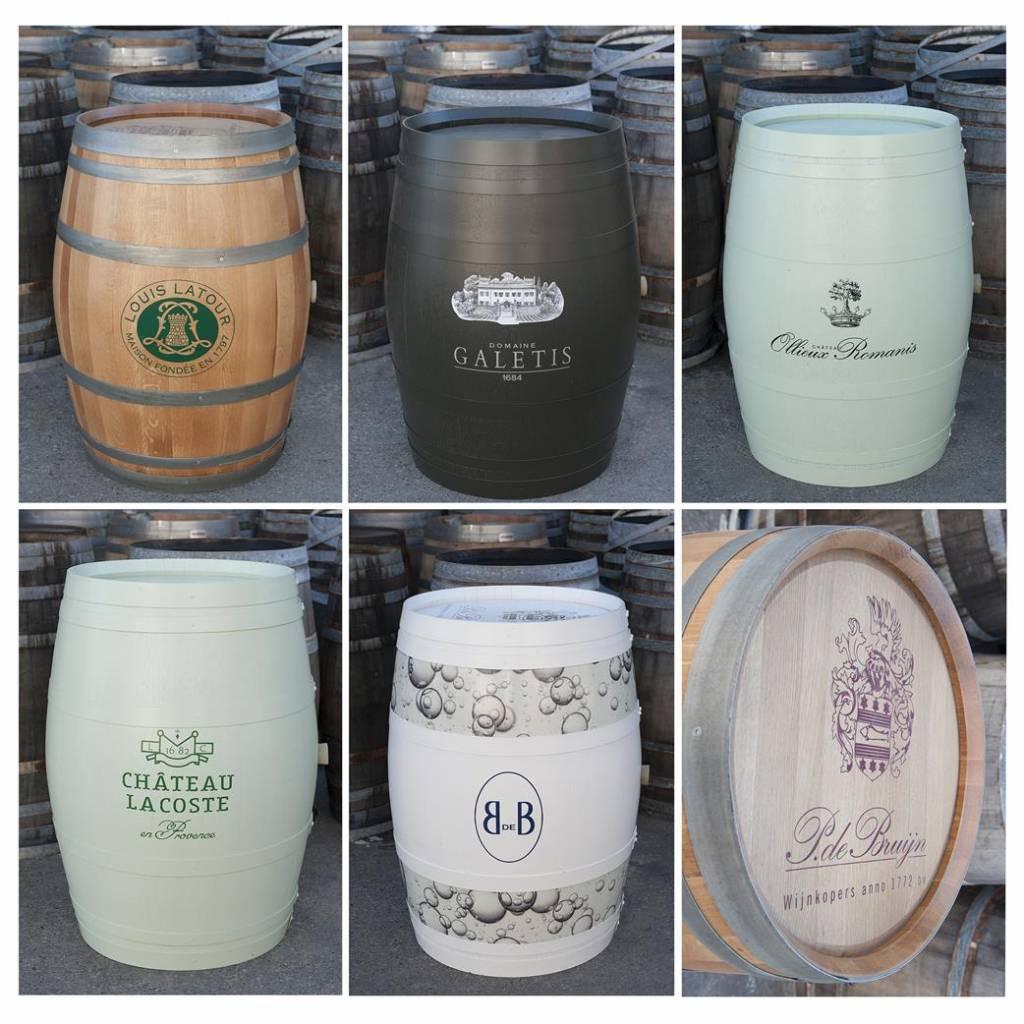 Wijnvat met logo: de ultieme branding voor wijnkopers, wijnhuizen en wijnbars