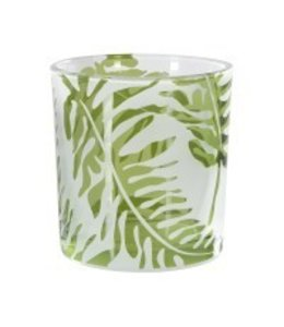 Green Fern Tealight Holder Small