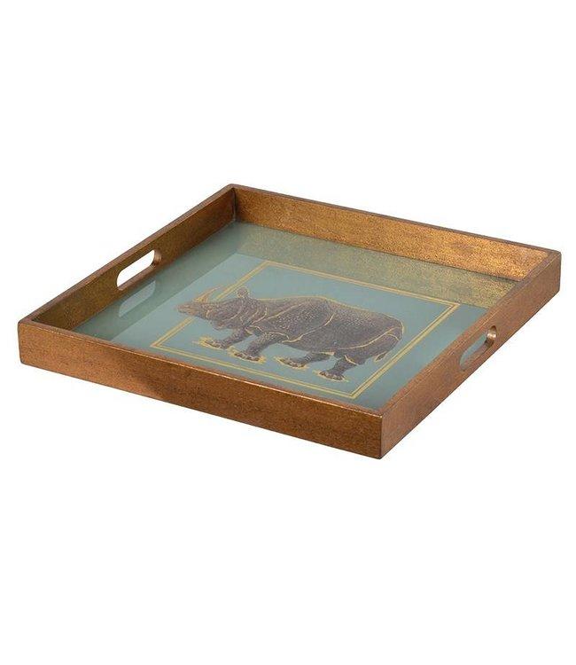 Square Rhino tray