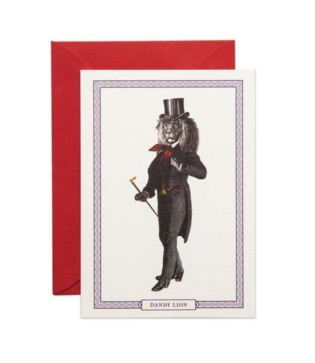 Dandy Lion Card