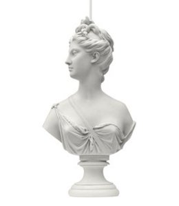 Muse Statue Lamp