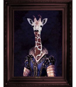 Dame Giralda Framed canvas print