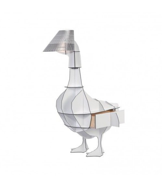 Pad Home Junon Goose Bedside lamp/Table White