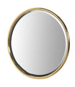 Gold Round Mirror 99cm