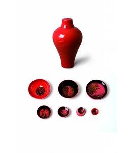 Ming Red - bowl set