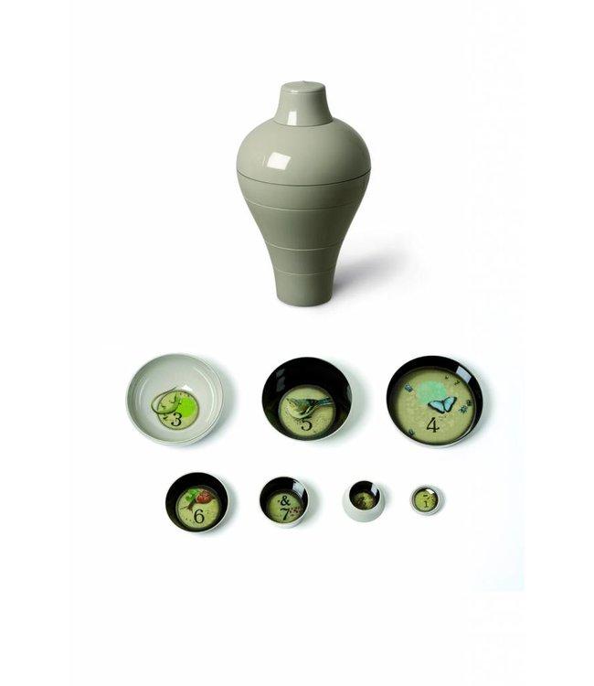 Ming Grey  - bowl set