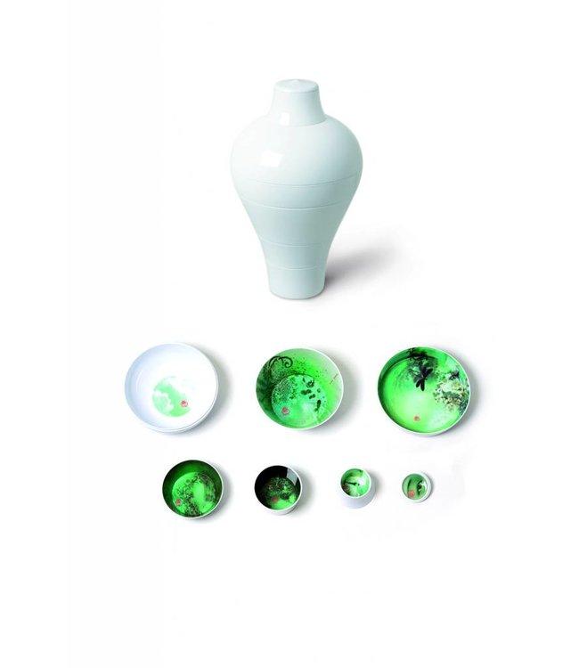 Ming White - bowl set