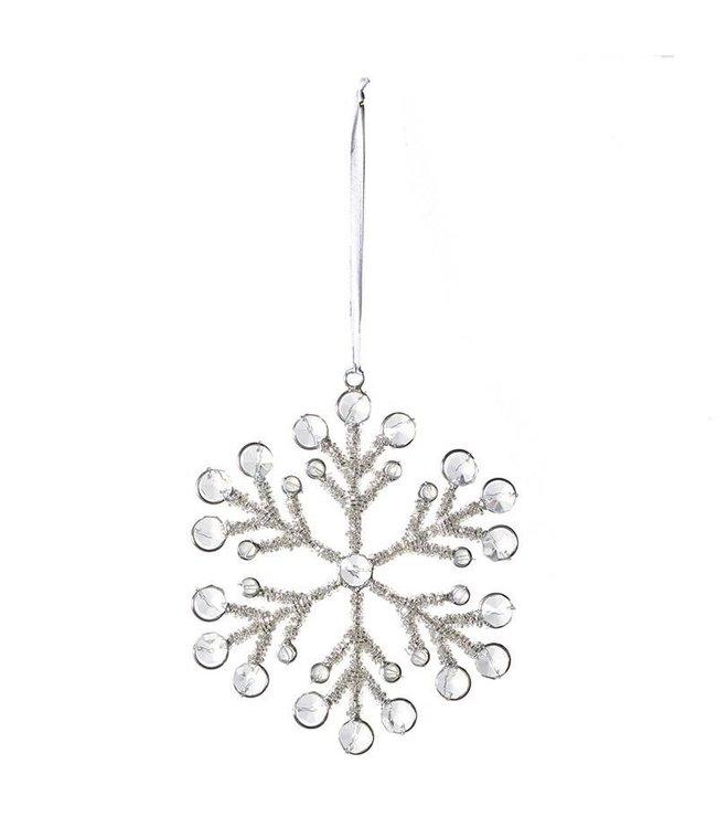 Beaded Snowflake