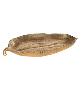 Small Gold Leaf Dish